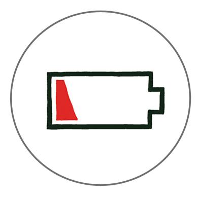 电量图片 圆形图标